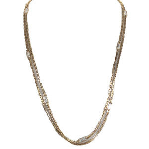Michael Kors Hollywood Long Station Necklace